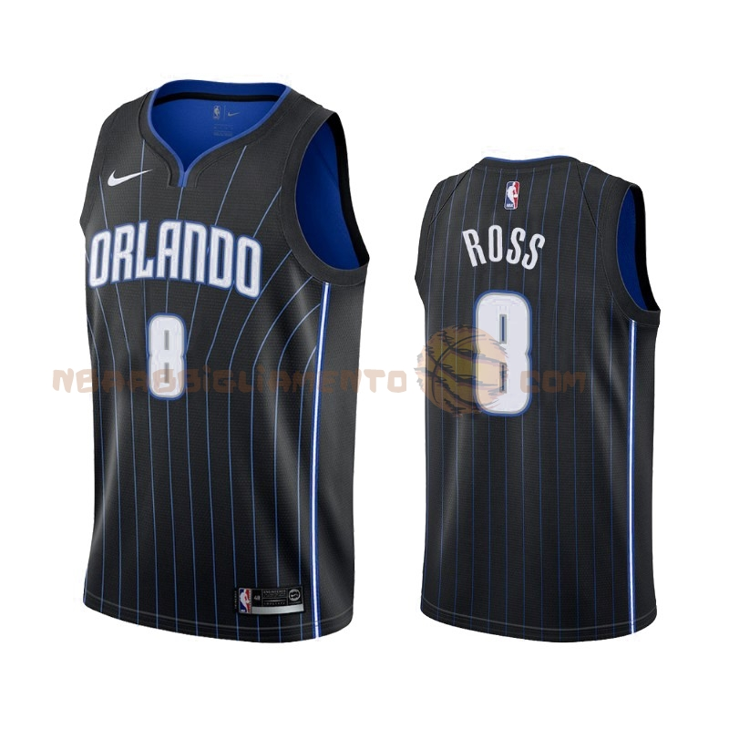 Vendita Nuove Maglia NBA Nike Orlando Magic NO.8 Terrence Ross Nero Statement 2019-20